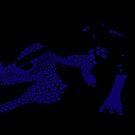 Blue Dragon Variation by Serroana
