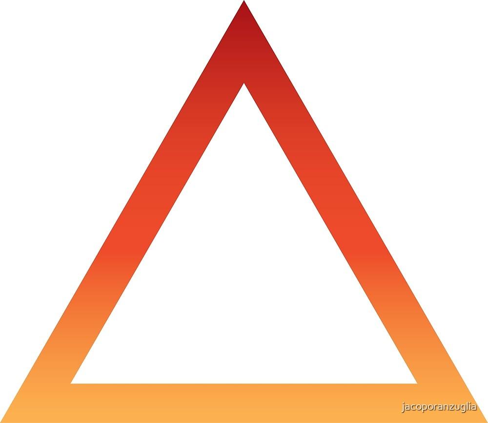 Fire alchemy symbol by jacoporanzuglia