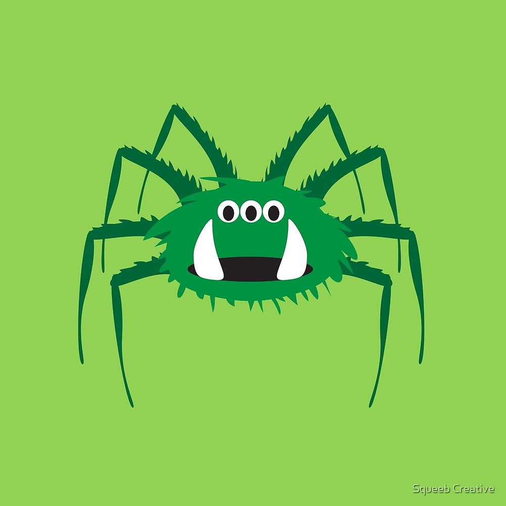 Itsy Bitsy Spider - Larry by Squeeb Creative