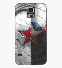 Funda/vinilo para Samsung Galaxy El escudo y el soldado