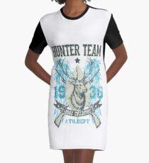 Hunter team Graphic T-Shirt Dress