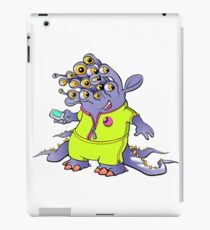 Alien Mascot iPad Case/Skin