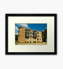 Housing Framed Print