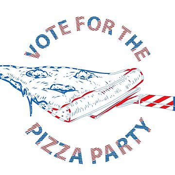 Fun Pizza Party Voting by CroDesign