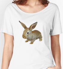 BUNNY RABBIT FARM  Women's Relaxed Fit T-Shirt
