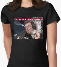 Destination Mars Women's Fitted T-Shirt