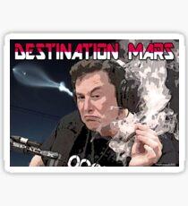 Destination Mars Sticker