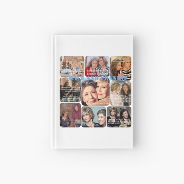 Grace and Frankie Hardcover Journal