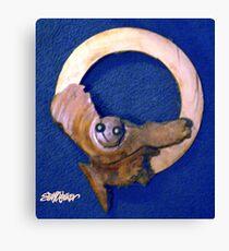 Owl Moon Canvas Print