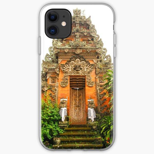Ornate Door in Ubud, Bali, Indonesia iPhone Soft Case