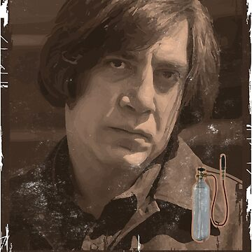 No Country For Old Men - Anton Chigurh - Javier Bardem - Friendo by quark