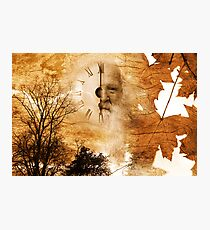 Father Time Photographic Print