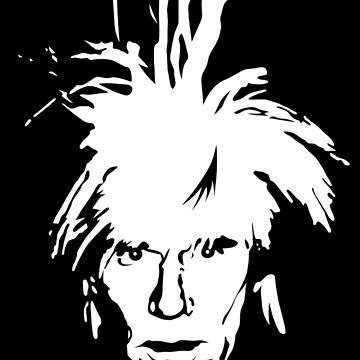 Andy Warhol - self portrait by retropopdisco