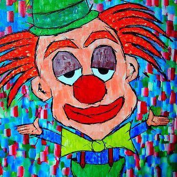 A Clown by henryharrison