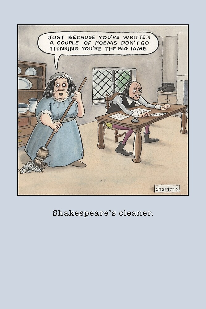 Shakespeare's Cleaner by Jamie Charteris