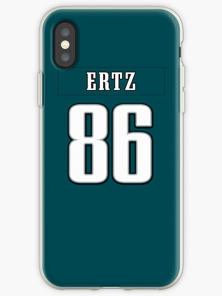 official photos 7cb97 acf9c 'Zach Ertz Jersey Case' iPhone Case by csmall96