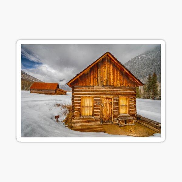 Private Ghost Cabin Sticker