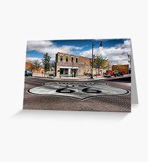 Winslow, Arizona - Route 66 Greeting Card
