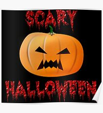 Scary Halloween Poster