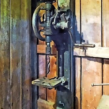 Drill Press in Shop by SudaP0408