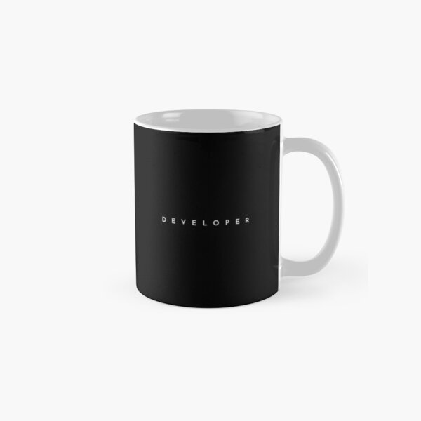 Developer (minimal) Classic Mug