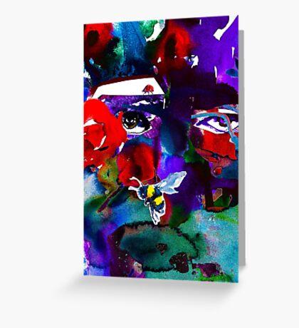 BAANTAL / Pollinate / Evolution #6 Greeting Card