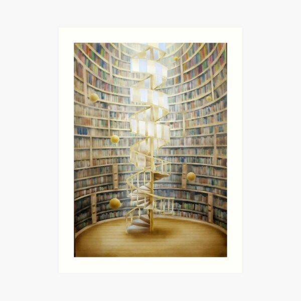 Pursuit of knowledge Art Print