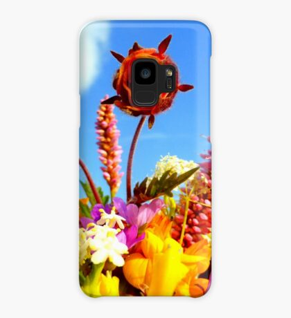 Wildflower Greetings Case/Skin for Samsung Galaxy