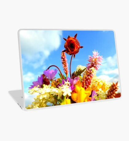 Wildflower Greetings Laptop Skin