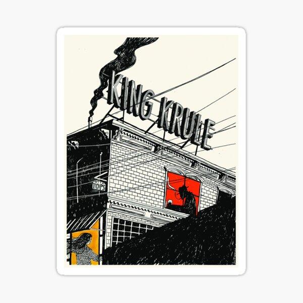 King Krule Poster Sticker
