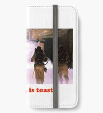 This chick is toast! iPhone Wallet/Case/Skin