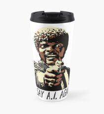 SAY A.I. AGAIN Travel Mug