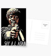 SAY A.I. AGAIN Postcards