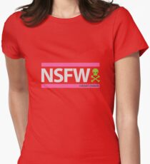 NSFW Womens Fitted T-Shirt