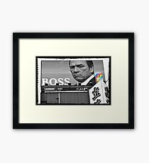 Autumn in Japan:  Tommy Lee Jones - Boss of the Bad-Asses Framed Print
