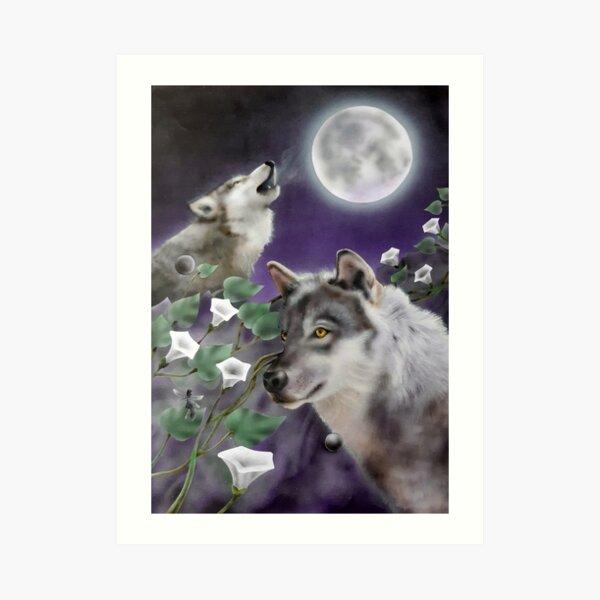 Wolf Family Art Print