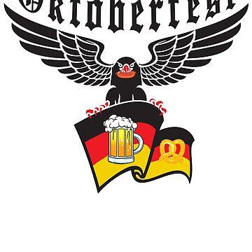 Oktoberfest 2018 - German Eagle celebrates Oktoberfest by design2try