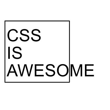 CSS Is awesome by petrosdeme