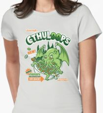 Cthuloops! All New Flavors! Women's Fitted T-Shirt