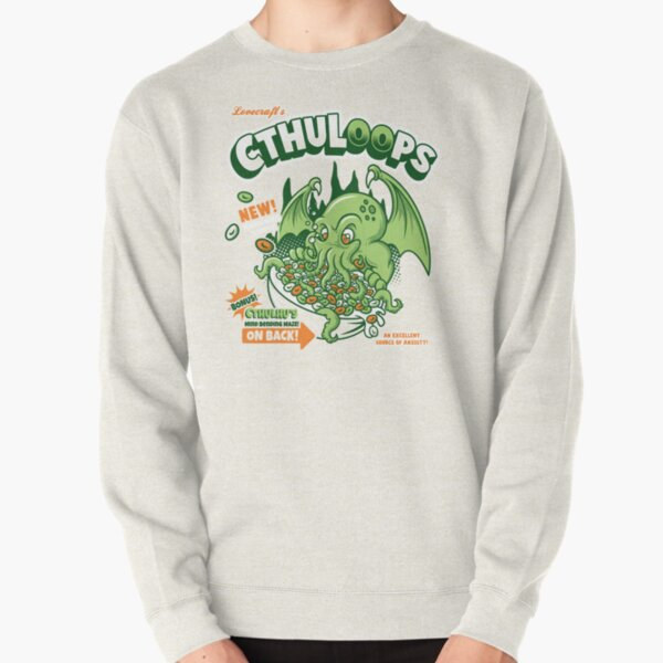 Cthuloops! All New Flavors! Pullover Sweatshirt