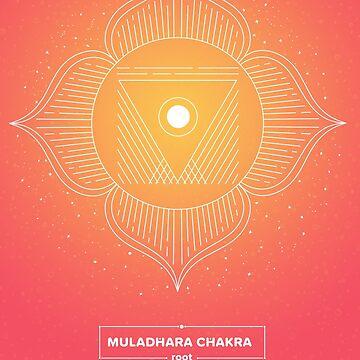 ROOT CHAKRA - Muladhara by llamadala