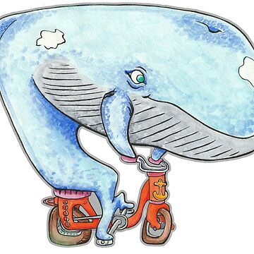 A Whale of a Bike Ride by tomasquinones