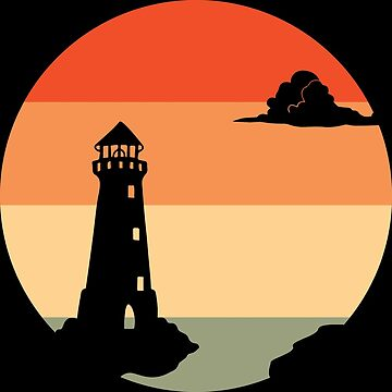 Sunset | Lighthouse Twilight Dawn by DesDesigner