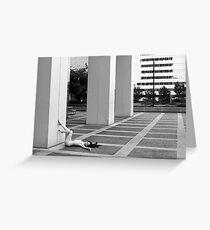 dominion plaza Greeting Card