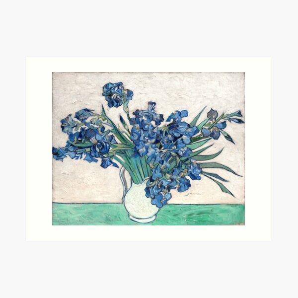 Irises - Vincent Van Gogh Art Print