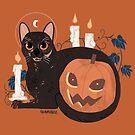 Halloween Kitty by straungewunder
