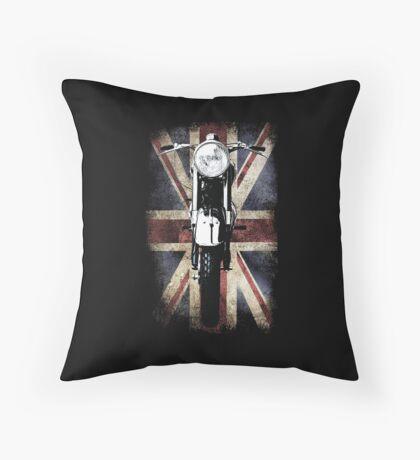 Classic British BSA Motor Cycle Tee Floor Pillow