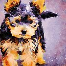 Yorkshire Terrier Dog by Leon Woods