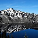 Crater Lake Reflection by Stephen  Van Tuyl