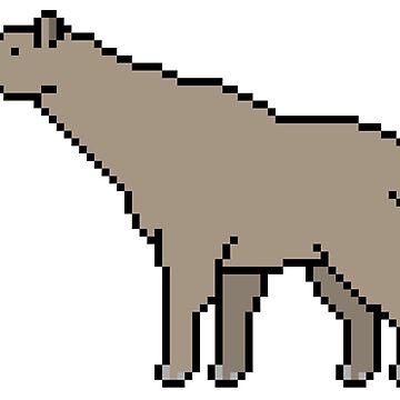 Paraceratherium transouralicum by PixelsOfThePast